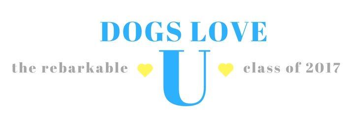 Dogs Love U Class of 2017 Rebarkable Dogs logo