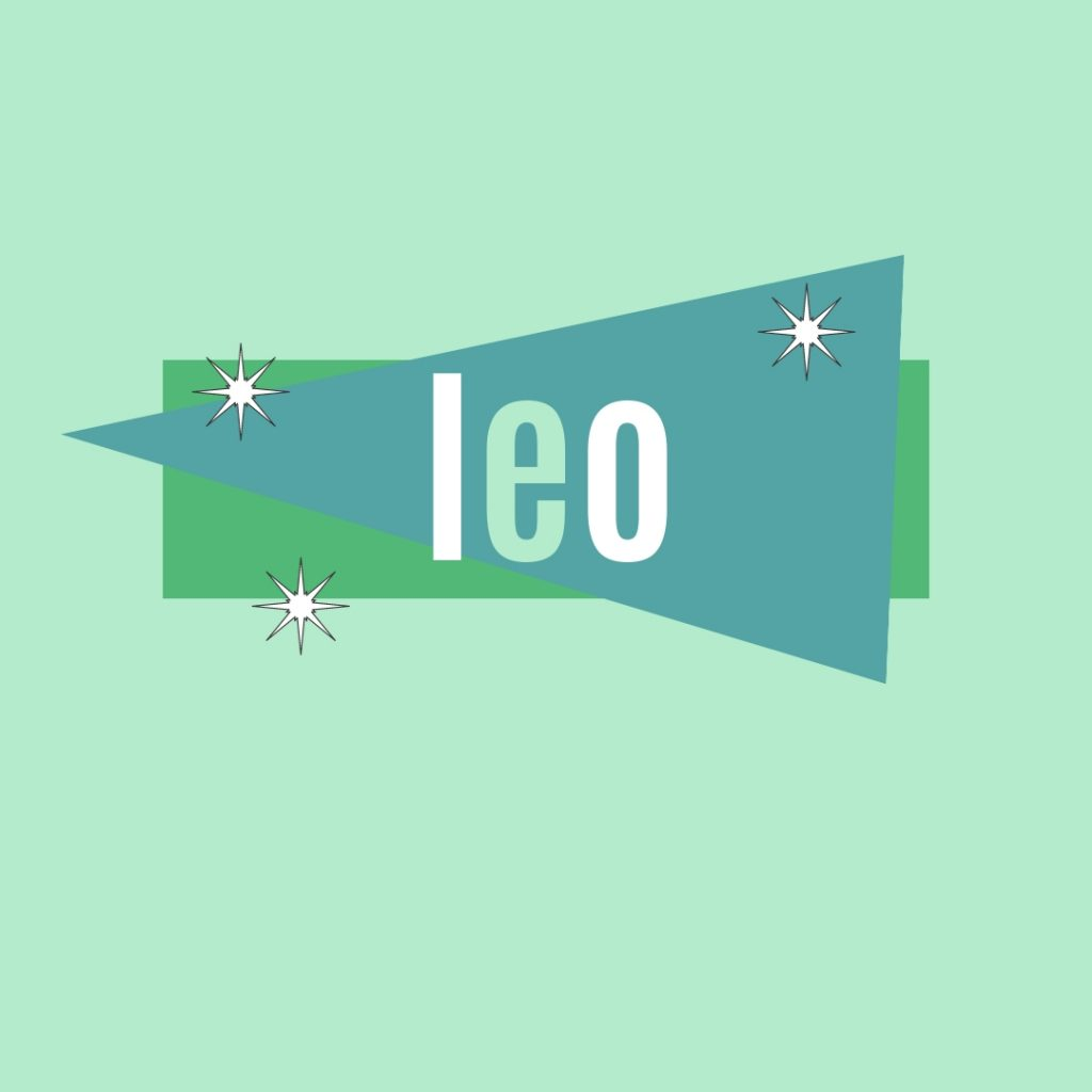 old-fashioned name leo as a human name for dogs